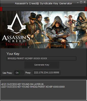 Creed key code activation 3 assassin