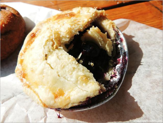 Desayuno en la Fábrica Cold Hollow Cider Mill: Tartaleta de Cereza