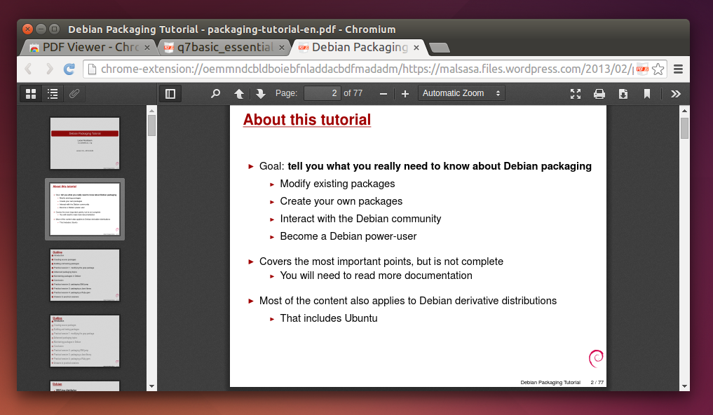 How To Read PDF in Chromium
