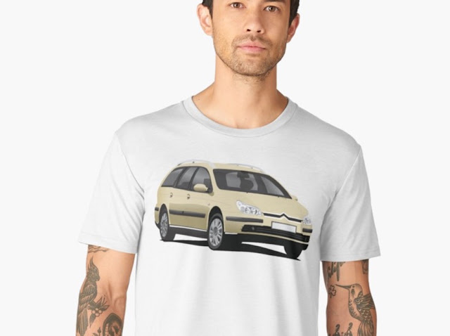 Citroën C5 Break tshirts