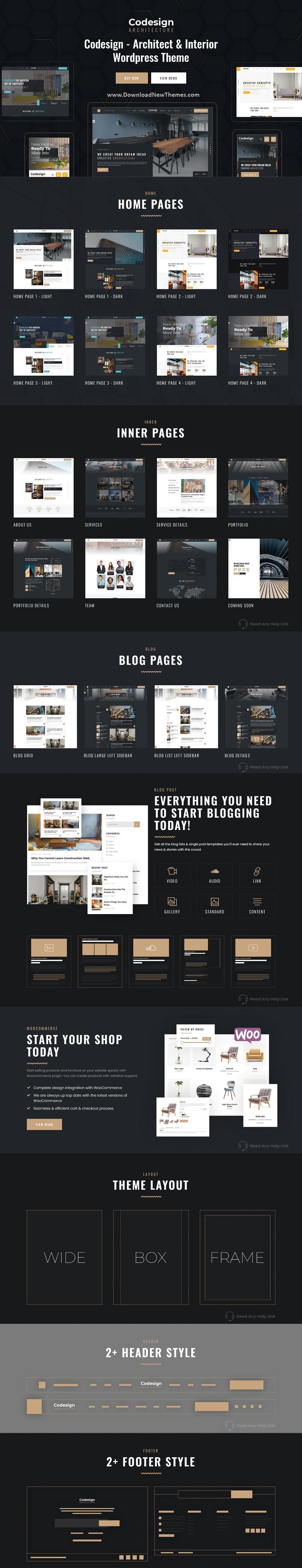 Architect & Interior WordPress Theme