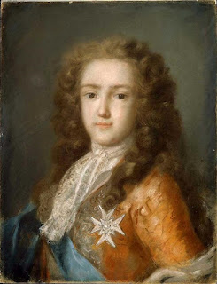 Carriera's portrait of the young Louis XV