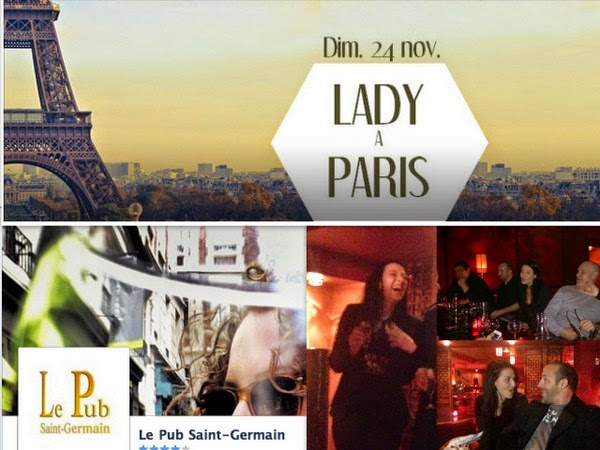 Lady à Paris
