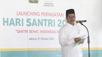 Santri Sehat Indonesia Kuat, Menjadi Tema hari Santri Nasional 2020