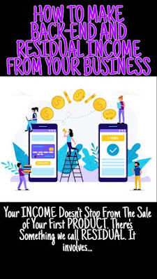 Making Back-End Residual Income