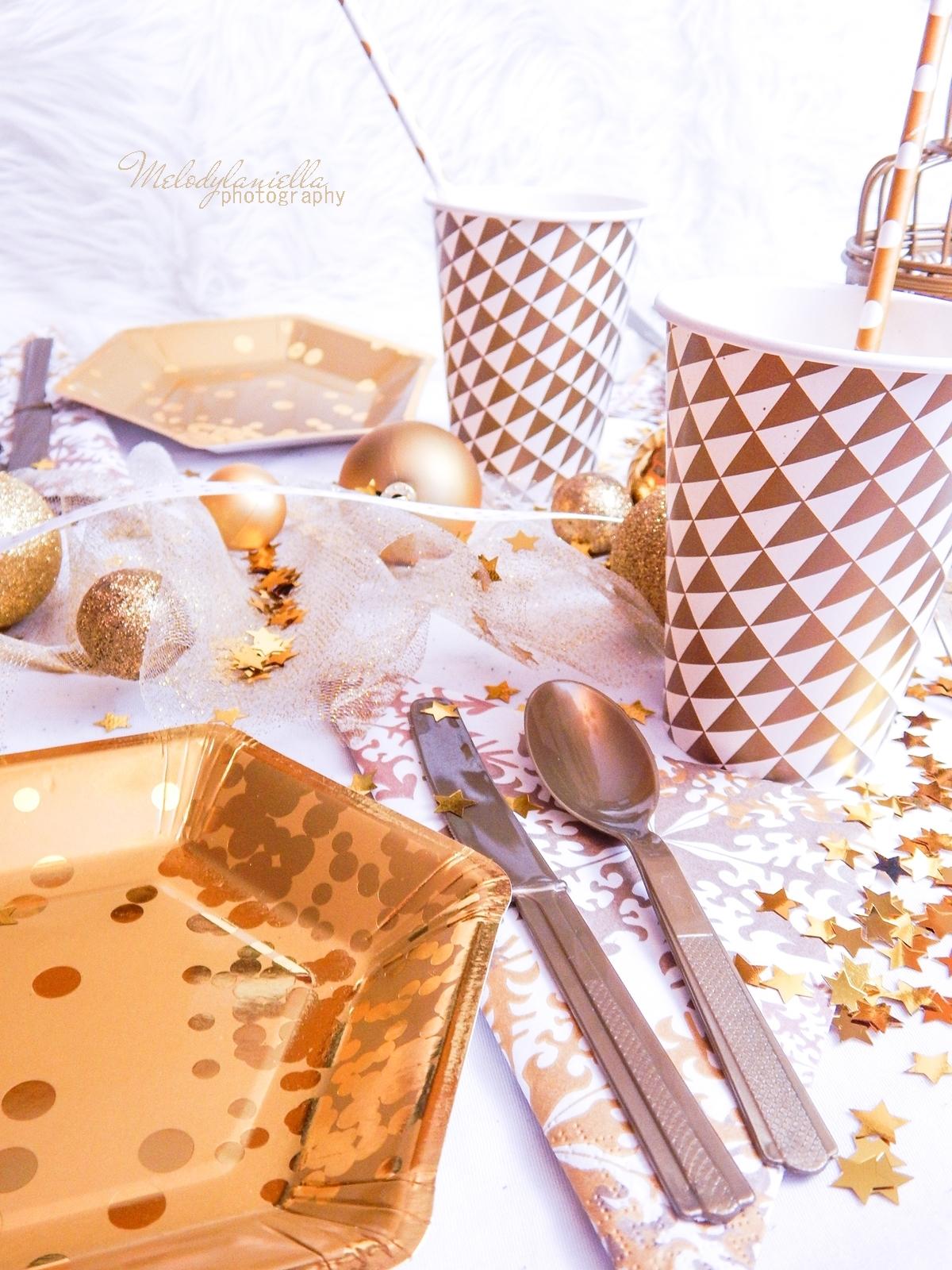 21 złote talerzyki papierowe efektowne i tanie dodatki do dekoracji imprez party urodziny ciekawe pomysły dekoracje domu mieszkania stołu