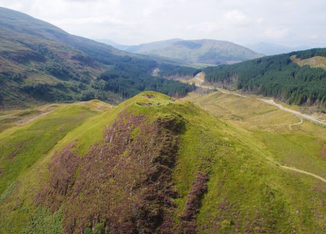 Archaeologists solve ancient mystery of 'melted' Iron Age fort in Scottish Highlands