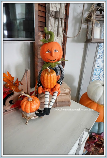 Farmhouse Cottage Fall Fireplace Mantel-Whimsical-From My Front Porch To Yours