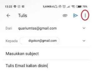 Kirim Email di Gmail