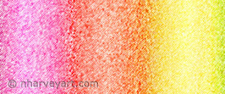 """Rainbow Ices"" digital art rainbow stripes Closeup"