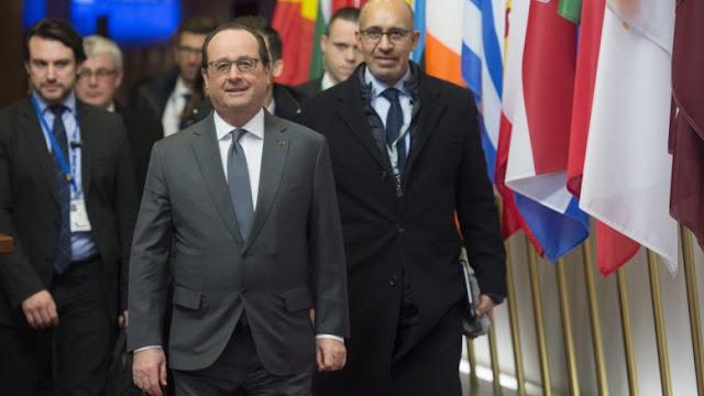 """Ολάντ: Υπαρκτός ο """"κίνδυνος ενός πολέμου"""" μεταξύ Τουρκίας και Ρωσίας στη Συρία"""