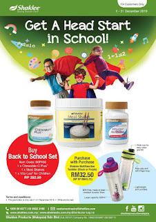 Promosi Set Kesihatan Kanak-kanak Shaklee