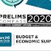 Rau's IAS Budget & Economic Survey Prelims Compass 2020 PDF Notes
