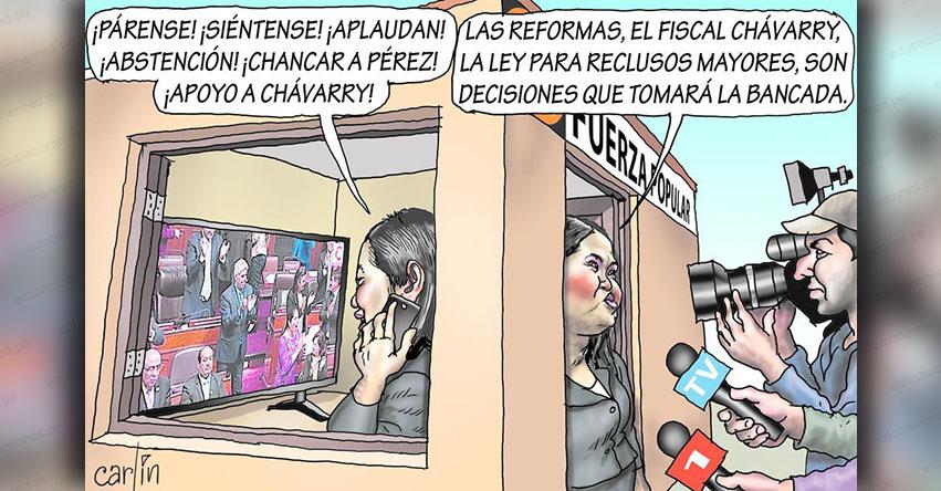 Carlincaturas Domingo 28 Octubre 2018 - La República