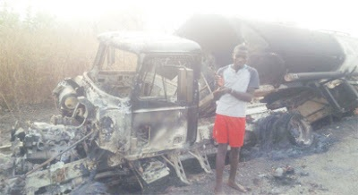 How I diverted, sold 33,000 litres of diesel, set truck ablaze- Suspect