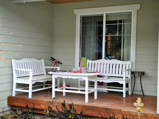 Did a little front porch update for a client!