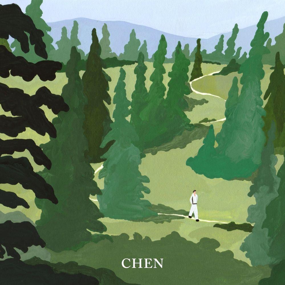 CHEN – April, and a flower – The 1st Mini Album