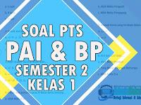 Soal PTS PAI Kelas 1 SD Semester 2 Kurikulum 2013