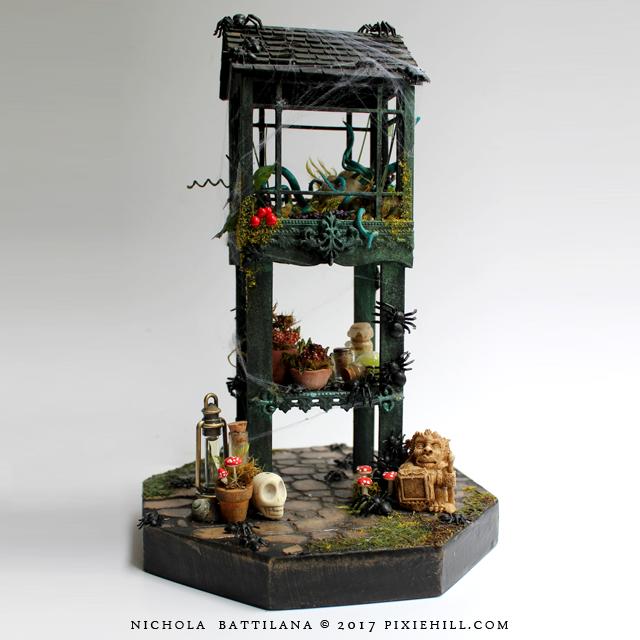 Miniature Dilapidated Greenhouse - Nichola Battilana