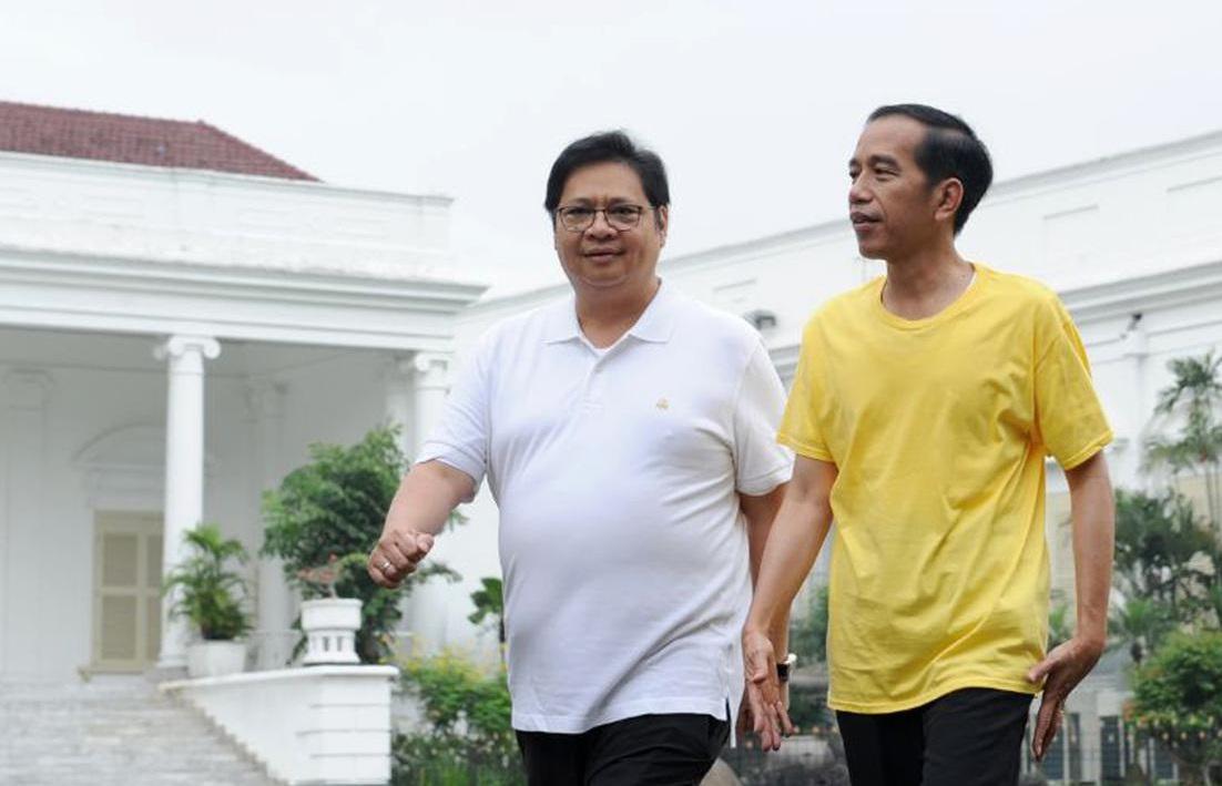 Beredar Perintah Pasang Foto Ketum Golkar Airlangga Hartarto di Sejumlah Papan Iklan, Demi 2024?