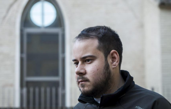 El rapero Hasel se encierra en la Universidad de Lérida