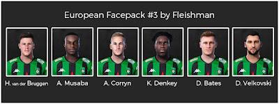 PES 2021 European Facepack #3 by Fleishman