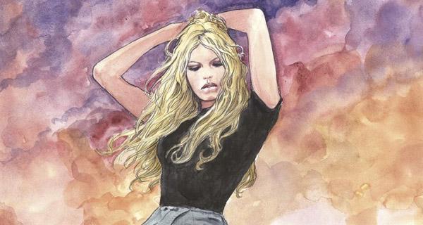 Milo Manara homenajea a la actriz Brigitte Bardot
