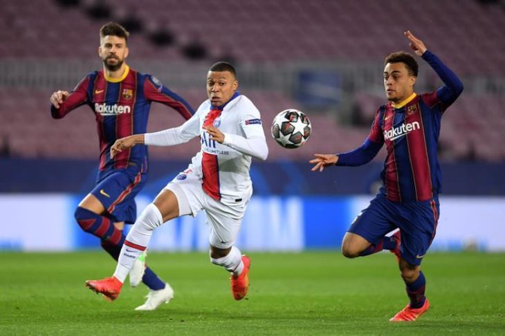 مباراة برشلونة وباريس سان جيرمان مباشر