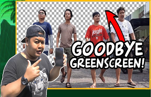 cara menghilangkan background video tanpa green screen