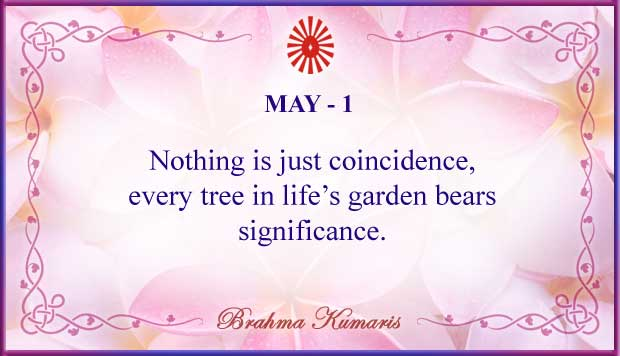 Thought For The Day May 1