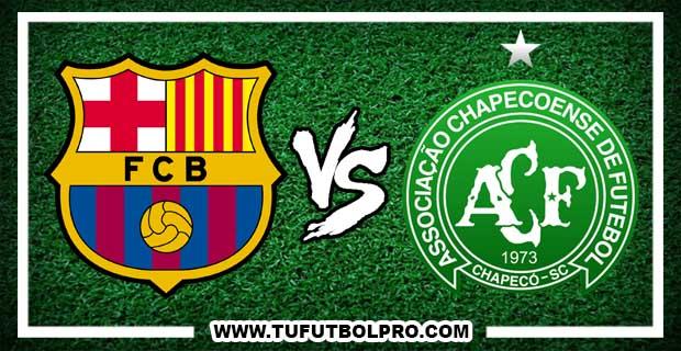 Ver Barcelona vs Chapecoense EN VIVO Por Internet Hoy 7 de Agosto 2017
