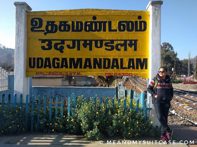 Udagamandalam aka Ooty Station