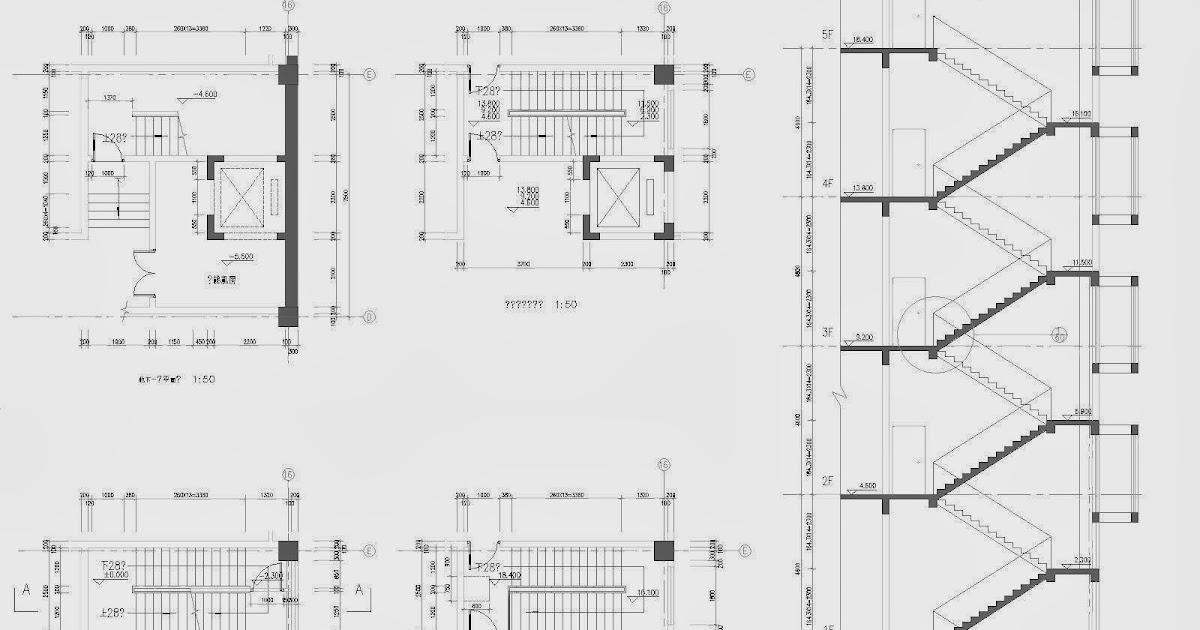 journal3 ascenseurs et cages d 39 escalier diff rentes typologies fichier autocad t l charger. Black Bedroom Furniture Sets. Home Design Ideas
