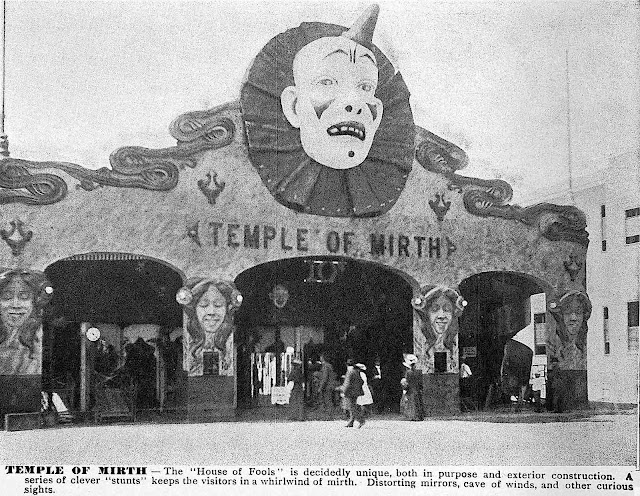 Louisiana Purchase expo, or the 1904 St. Louis World's Fair Temple Of Mirth