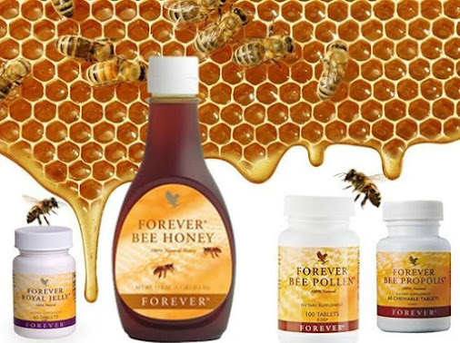 Produkty pszczele Forever Living Products Monika Turemka - propolis, pyłek pszczeli, mleczko pszczele i miód
