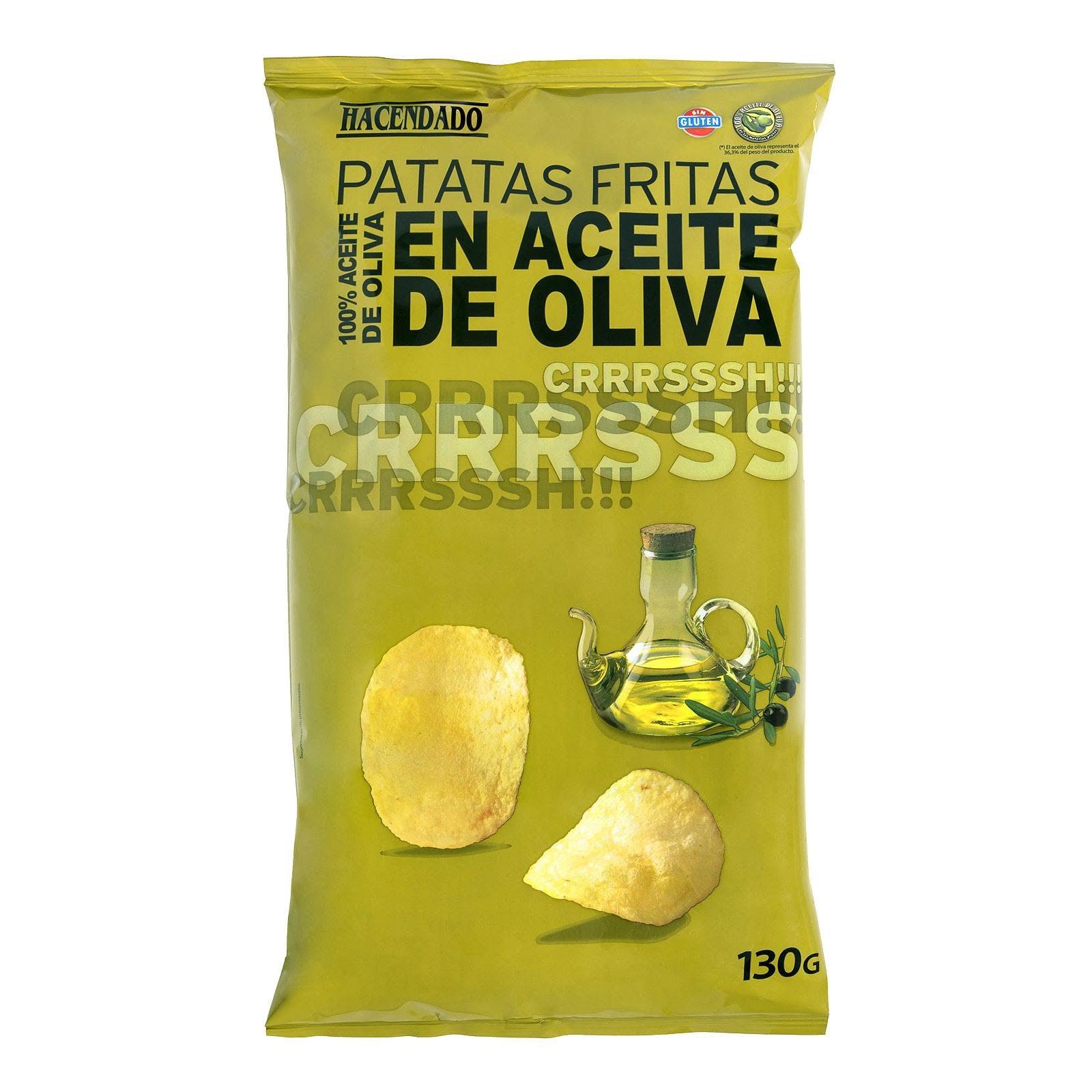 Patatas fritas en aceite de oliva Hacendado