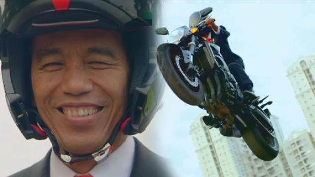 Konsep Video Jokowi Tampak Mirip dengan Ratu Elizabeth II Ketika Membuka Olimpiade