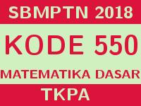 Soal dan Pembahasan SBMPTN 2018 Matematika Dasar