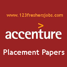 Accenture Placement Papers 2015-2016