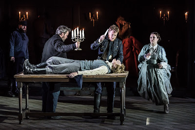 Garsington Opera 2016 - Idomeneo - Robert Murray, Caitlin Hulcup, Toby Spence, Louise Alder - credit Clive Barda