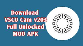 Download VSCO Cam v203 Full Unlocked MOD APK