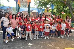 Meriahkan HUT ke-74 RI, TK Kalam Kudus Adakan Parents & Kids Gamezone