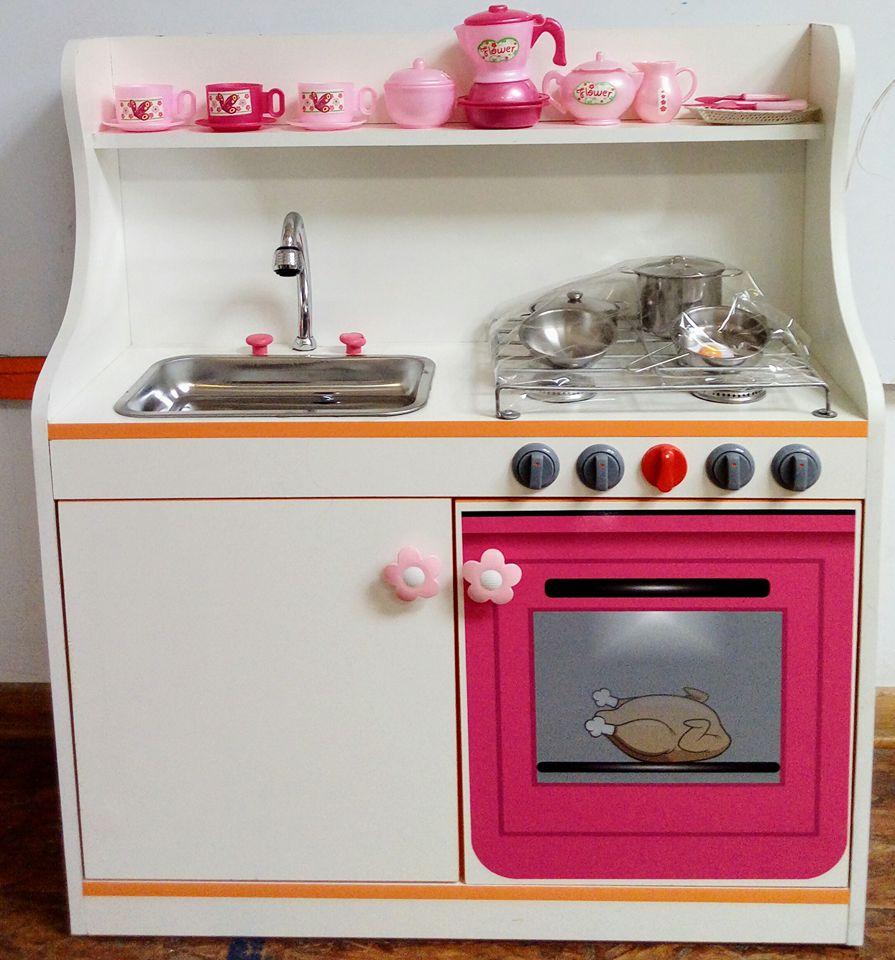 Cocina Para Niñas | Cocinita Para Ninas Lavadero Mobiliario Escolar E Infantil