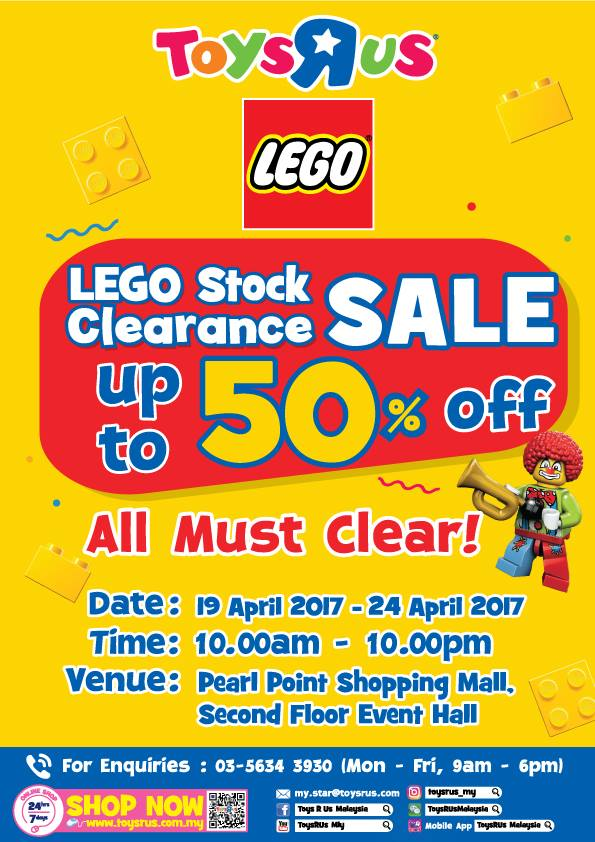 Toys R Us Lego Stock Clearance Sale Up To 50 Discount