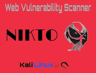 Nikto Kali Linux Web vulnerability scanner
