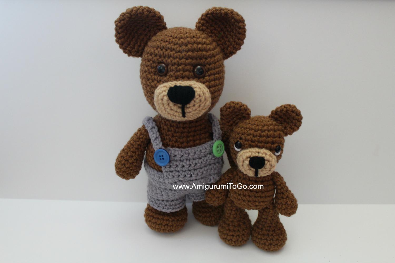 The OG LBF Bear ~ Amigurumi To Go