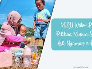 MUGU Water Bottle, Pilihan Minum Si Kecil, Asli Nyaman & Praktis