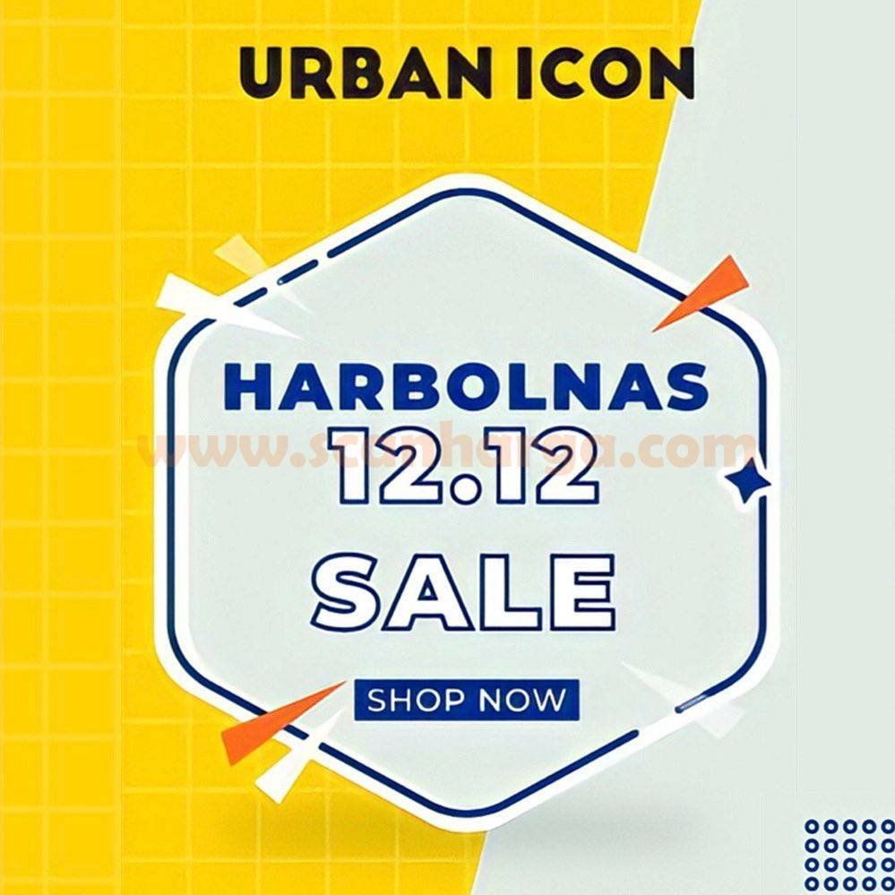 Urban Icon 12.12 Harbolnas Sale - Disc. up to 90% off