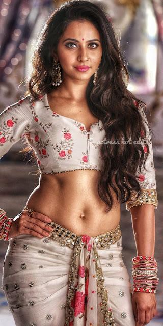 Actress Rakul Preet Singh Cleavage and Navel Actress Trend