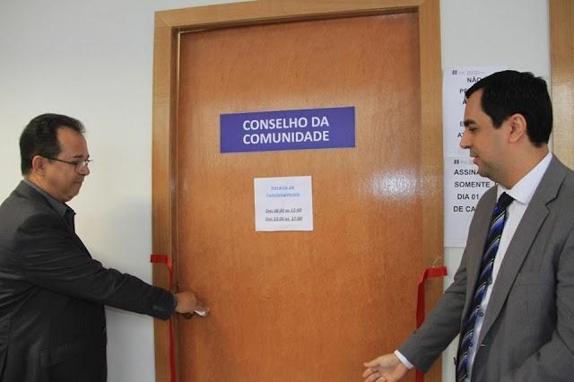 Senador Canedo: Solenidade marca abertura da sala do Conselho da Comunidade no Fórum